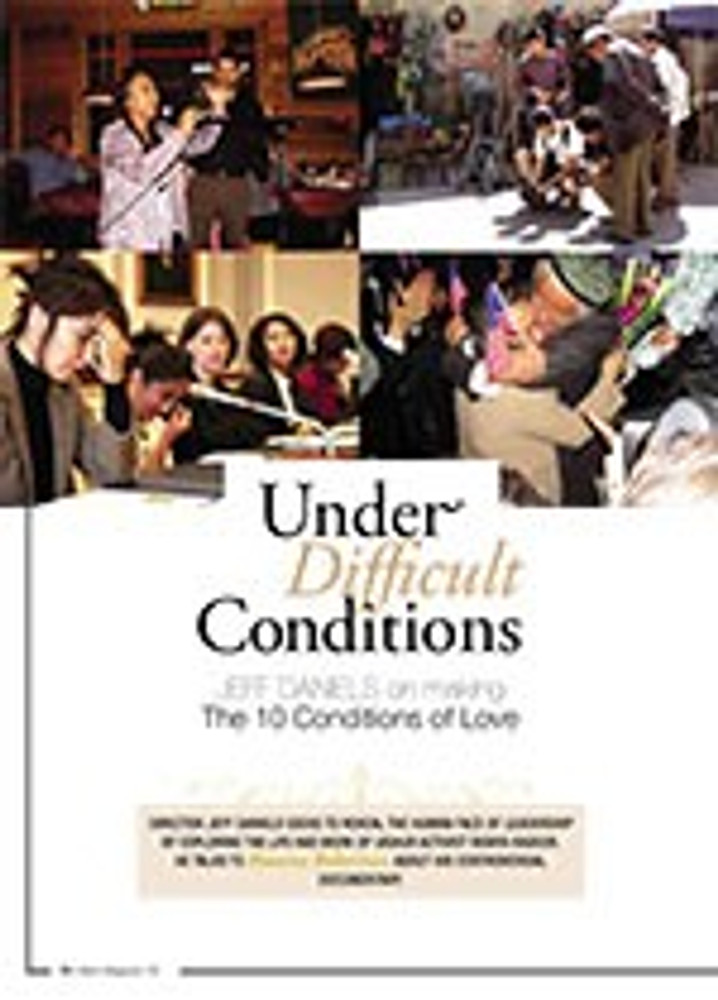 Under Difficult Conditions: Jeff Daniels on Making <i>The 10 Conditions of Love</i>