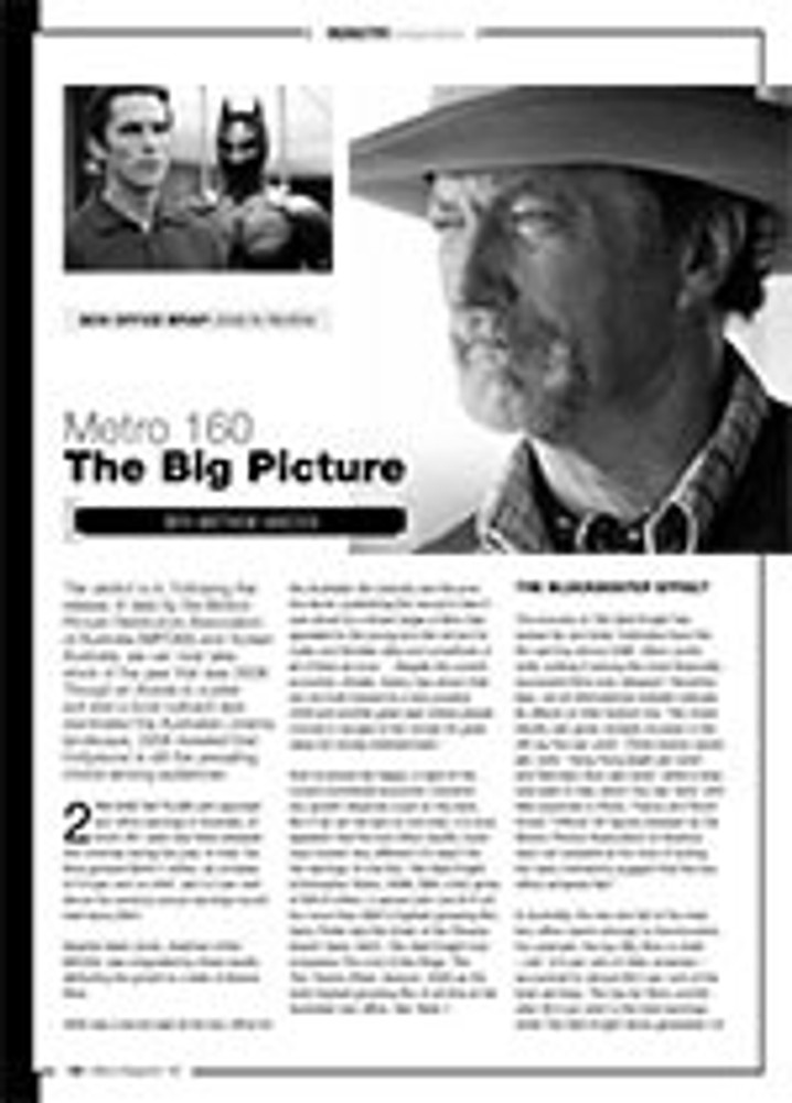 The Big Picture: Box Office Wrap ?2008 in Review
