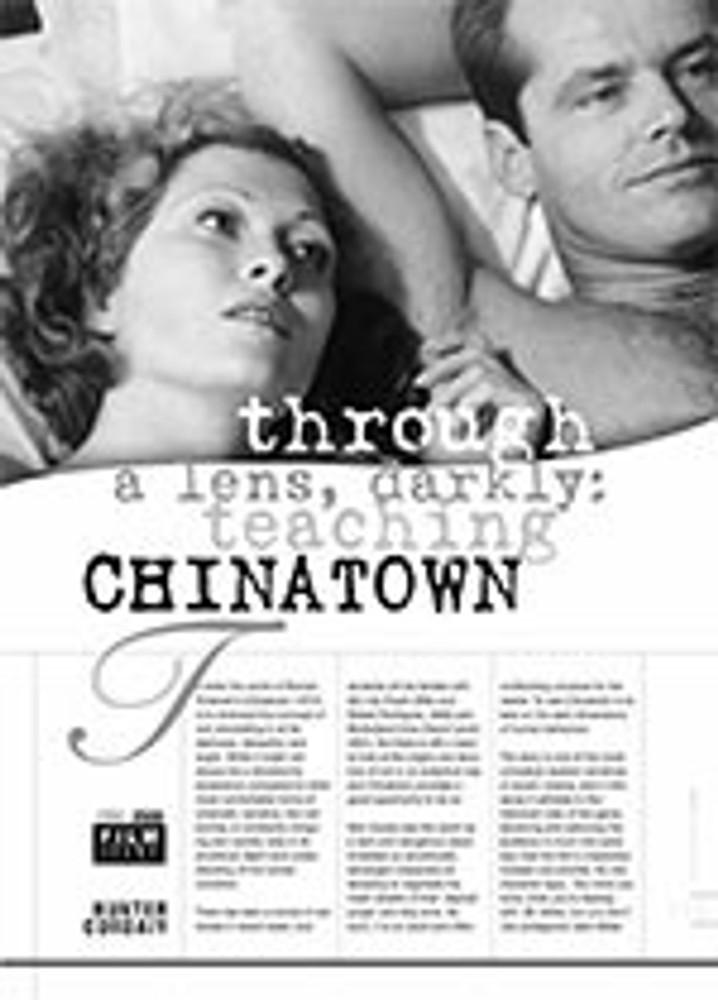 Through a Lens, Darkly: Teaching <i>Chinatown</i>