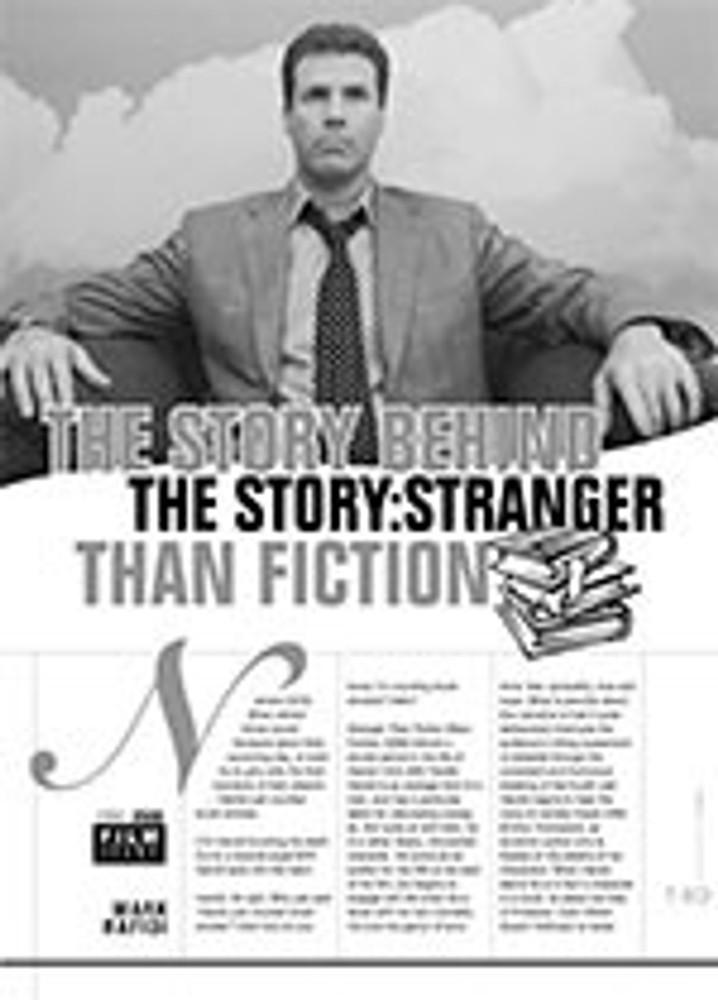 The Story Behind the Story: <i>Stranger than Fiction</i>