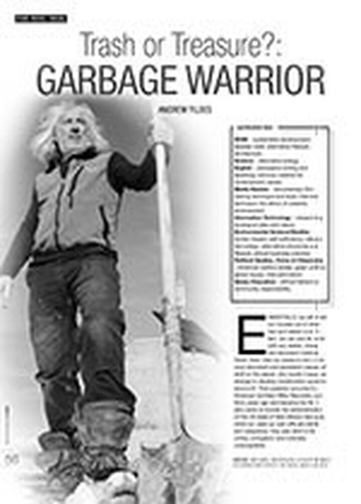 Trash or Treasure? <i>Garbage Warrior</i>