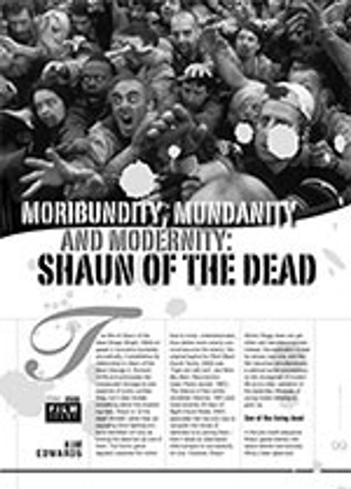 Moribundity, Mundanity and Modernity: <i>Shaun of the Dead</i>
