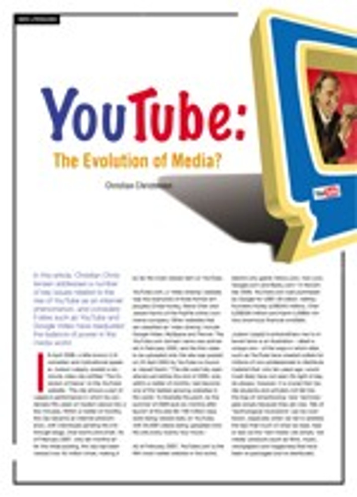 YouTube: The Evolution of Media