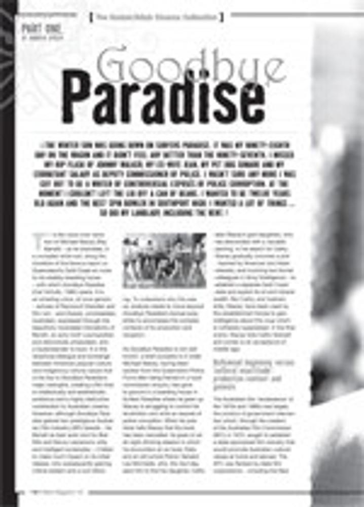 The NFSA's Atlab/Kodak Cinema Collection: Introduction and <i>Goodbye Paradise</i>