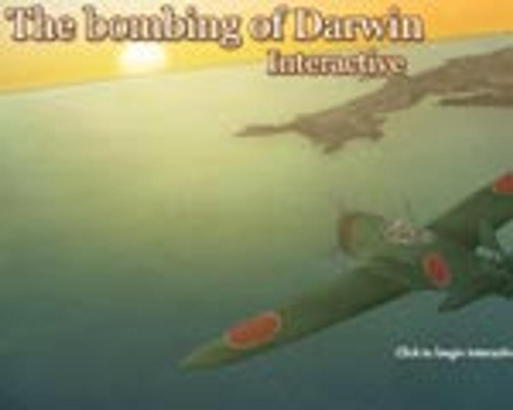 The bombing of Darwin