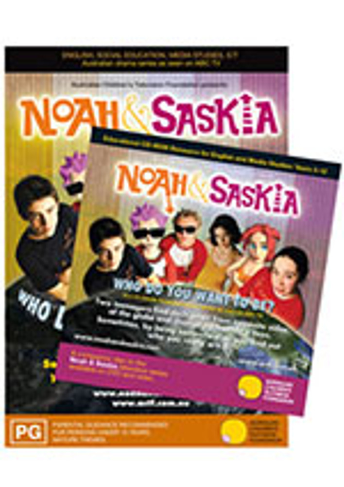 Noah & Saskia DVD/CD-ROM Learning Resource