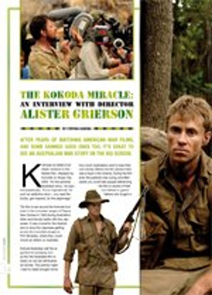 The Kokoda Miracle: An Interview With Director Alister Grierson