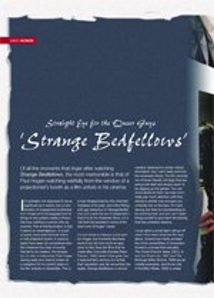 Straight Eye for the Queer Guys: Strange Bedfellows