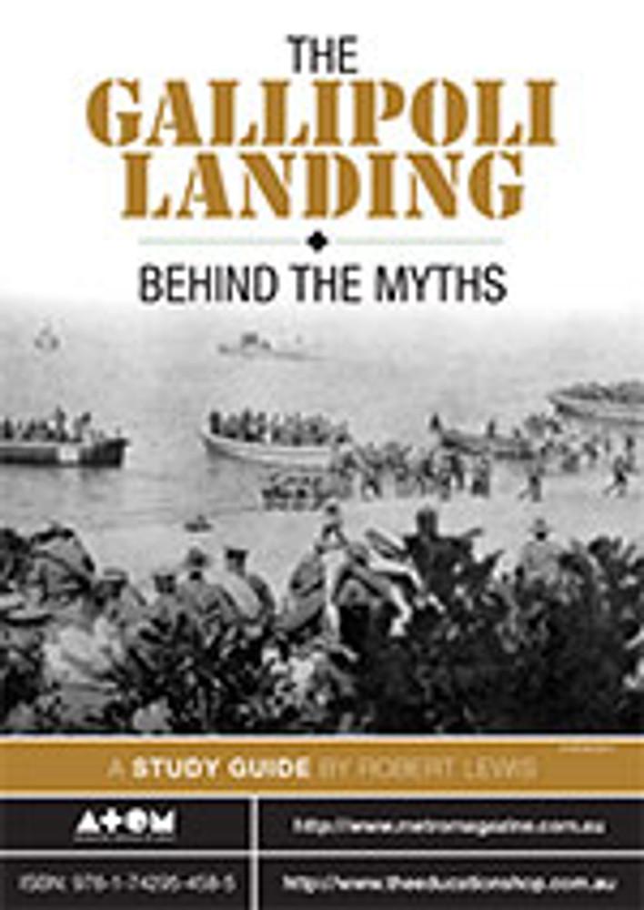 Gallipoli Landing, The: Behind the Myths