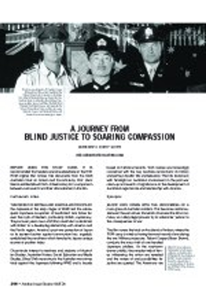 'Blood Oath': A Journey From Blind Justice to Soaring Compassion (A Study Guide)