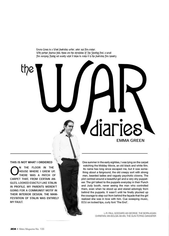 The War Diaries