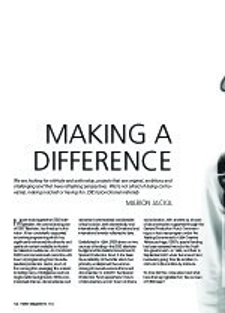 Making a Difference: SBS Independent
