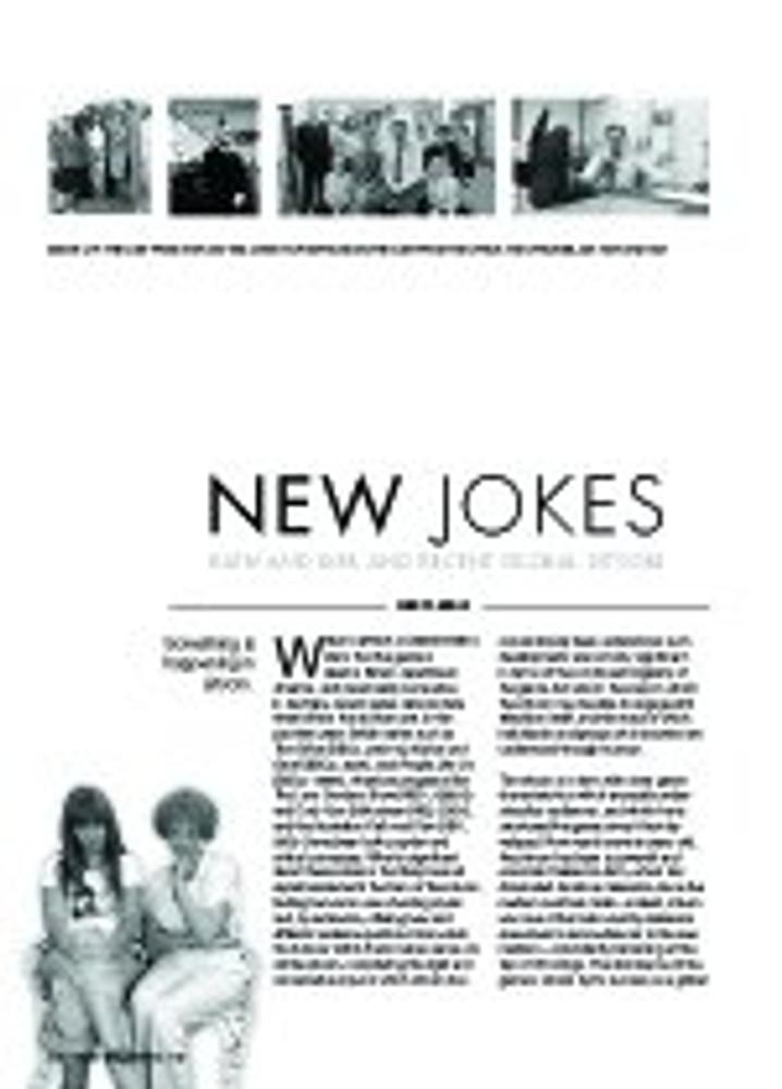 New Jokes: