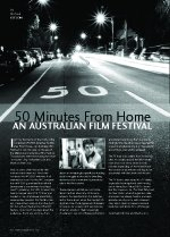 50 Minutes from Home: An Australian Film Festival