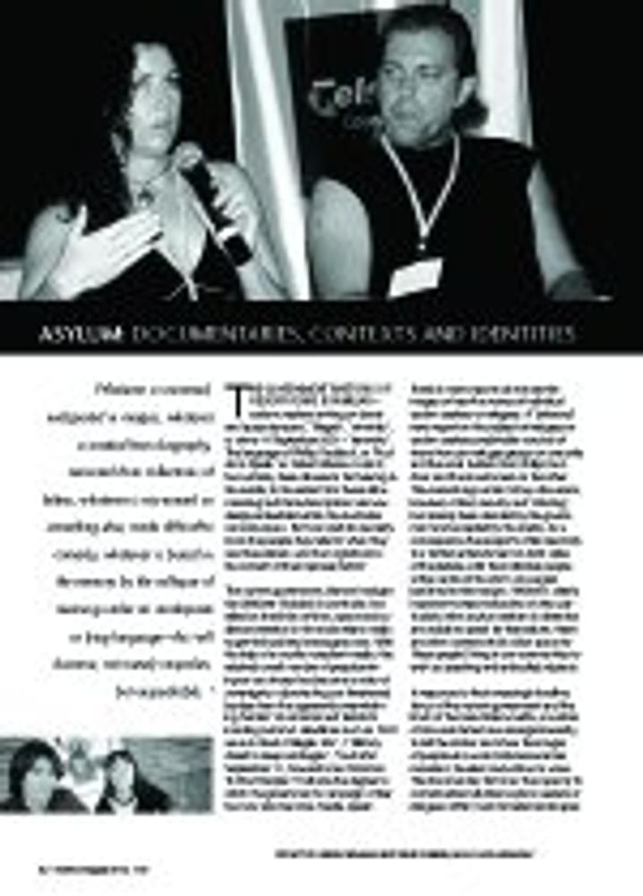 Asylum: Documentaries, Contexts and Identities