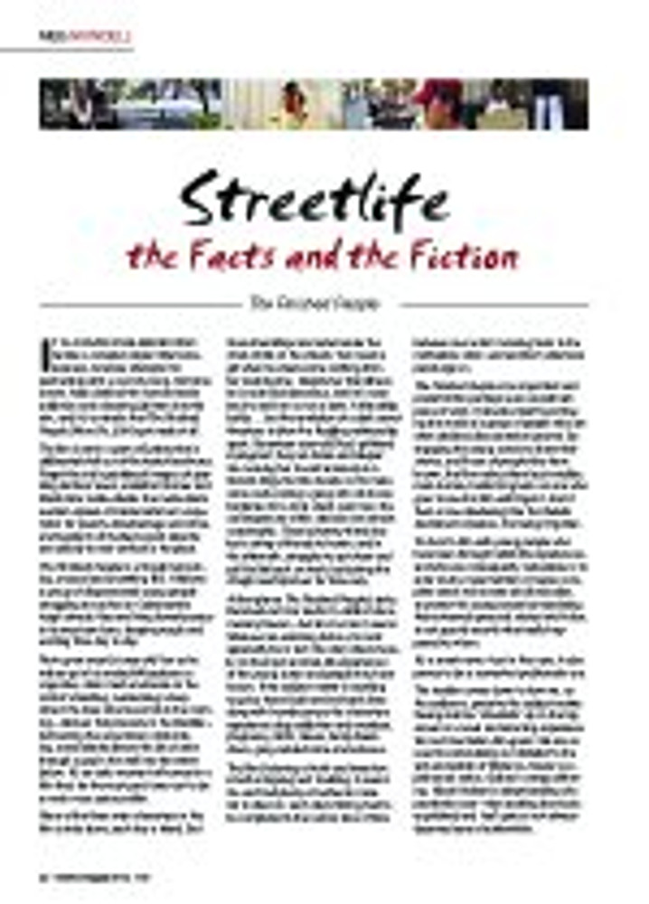 Streetlife - The Facts and the Fiction: