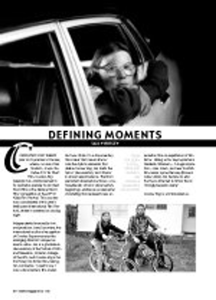Defining Moments: