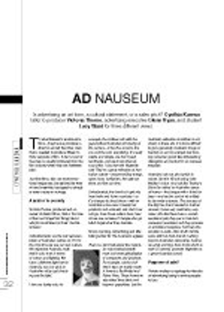 Ad Nauseum