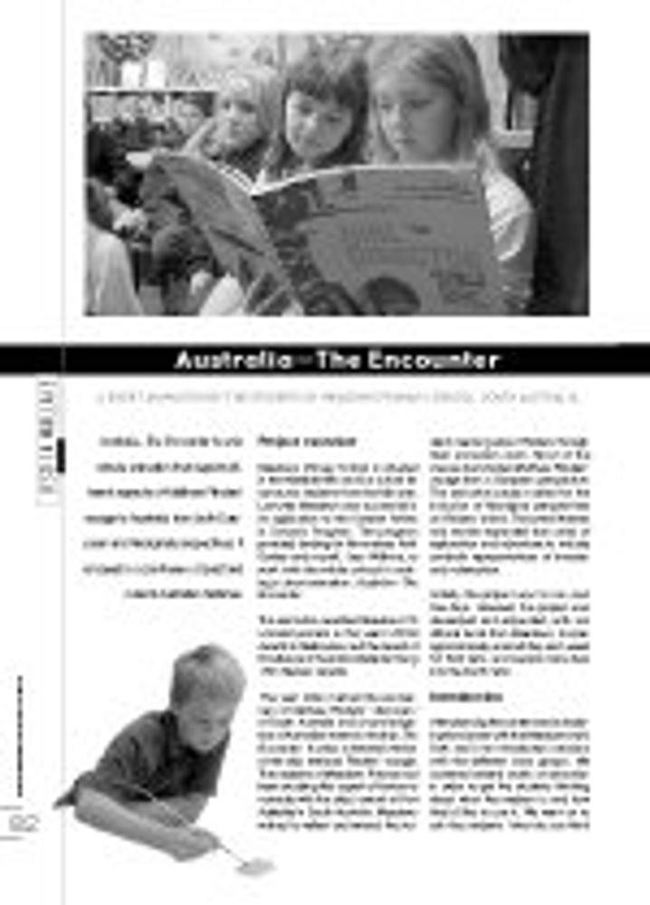 'Australia - The Encounter'