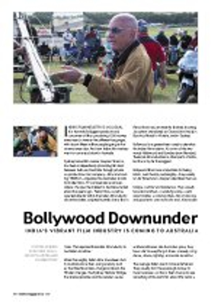 Bollywood Down Under - India? Vibrant Film Industry is Coming to Australia