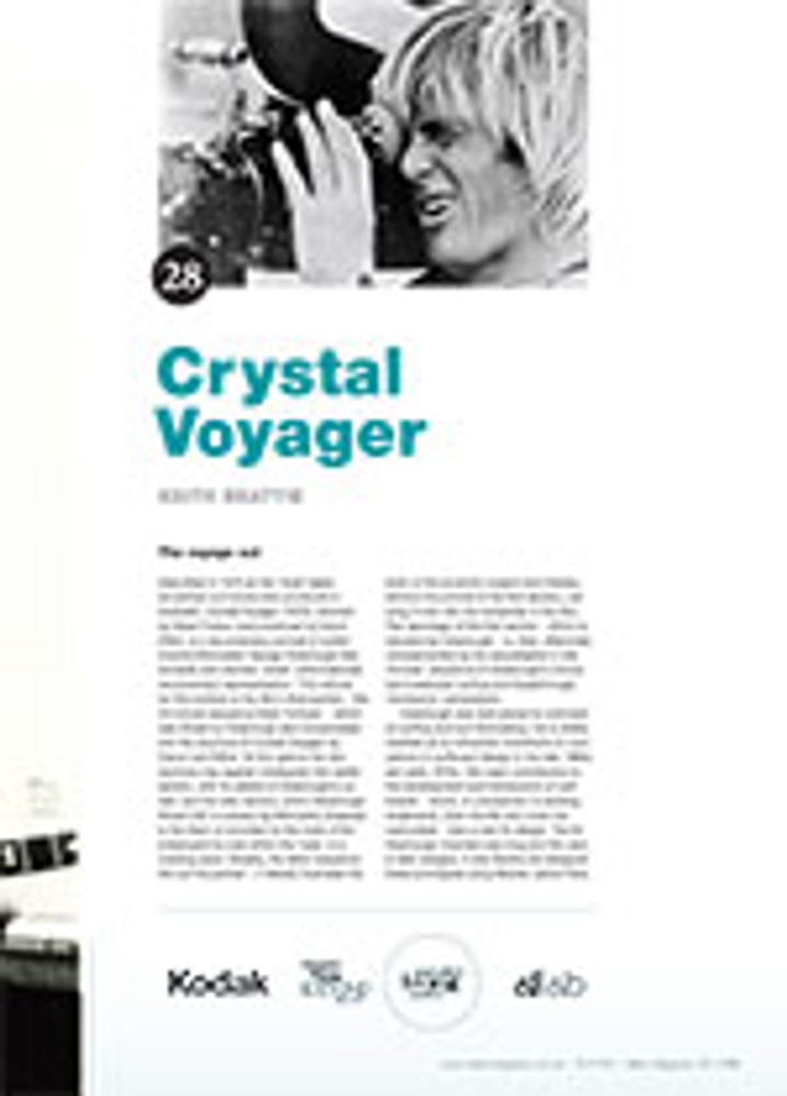 NFSA's Kodak/Atlab Cinema Collection: <em>Crystal Voyager</em>
