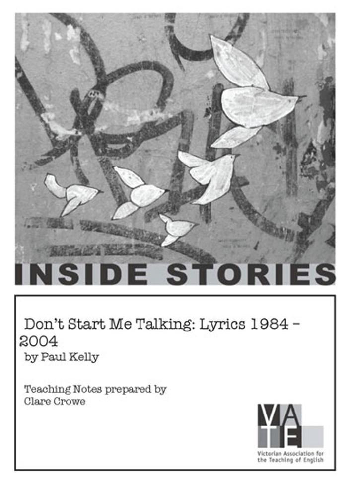 Don't Start Me Talking: Lyrics 1984-2004