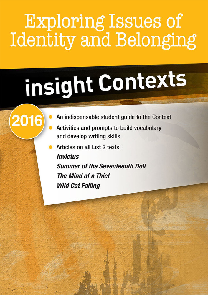 Insight Contexts: Exploring Issues of Identity & Belonging