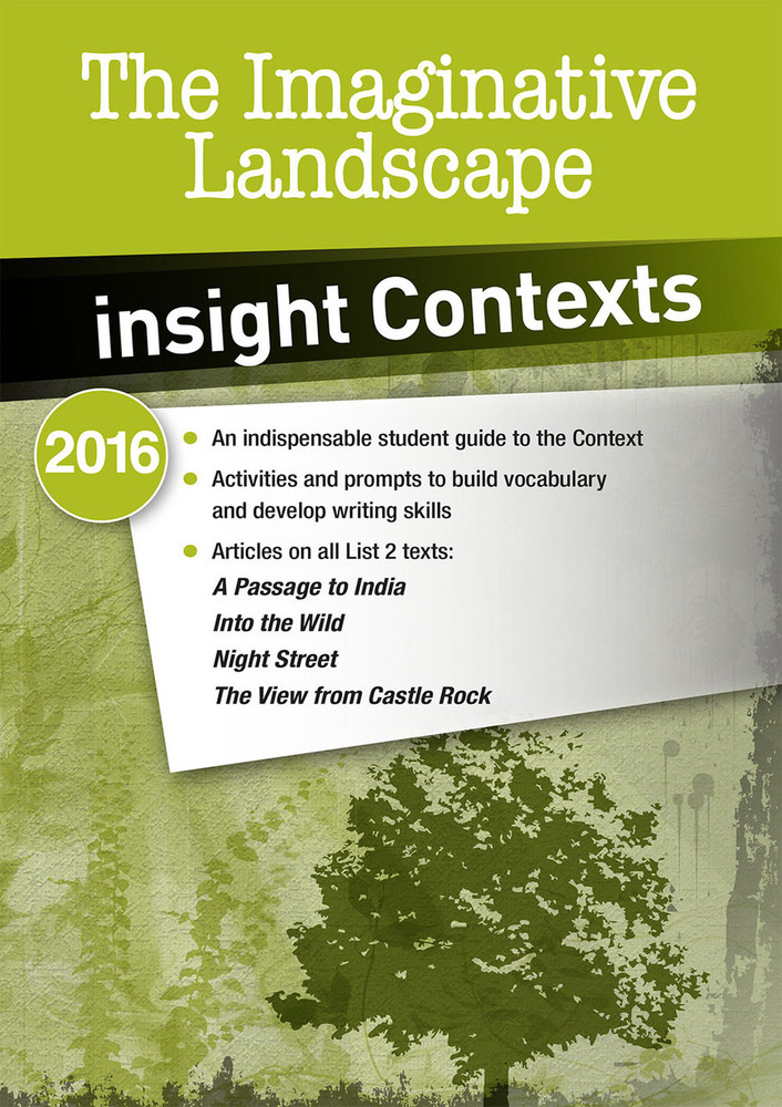 Insight Contexts: The Imaginative Landscape
