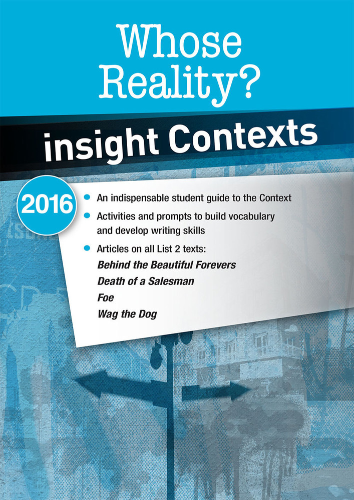 Insight Contexts: Whose Reality