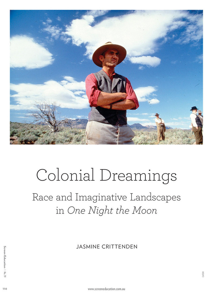 Colonial Dreamings: Race and Imaginative Landscapes in One Night the Moon