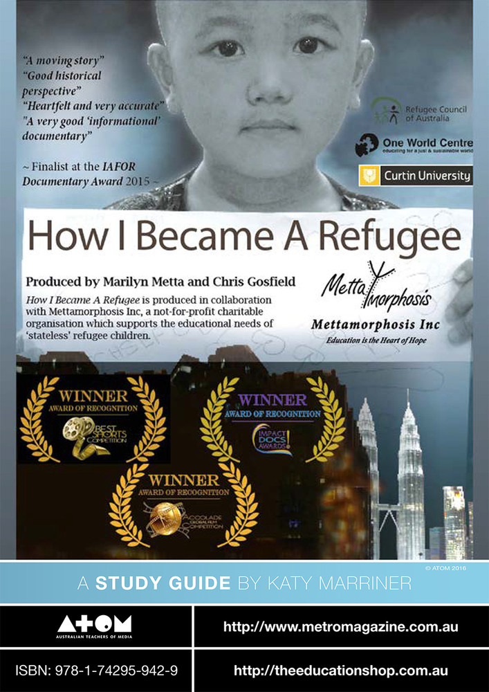 How I Became a Refugee (ATOM Study Guide)