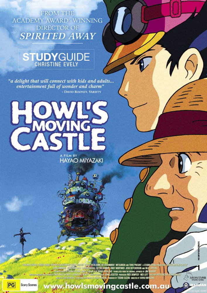 howl s moving castle atom study guide the education shop