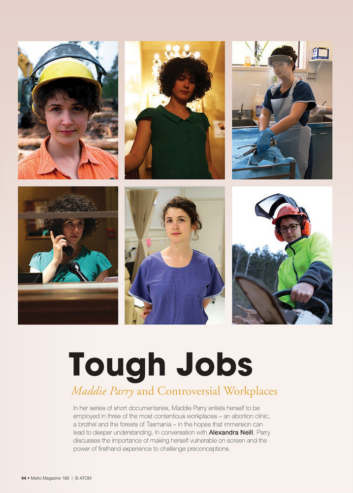 Tough Jobs: Maddie Parry and Controversial Workplaces
