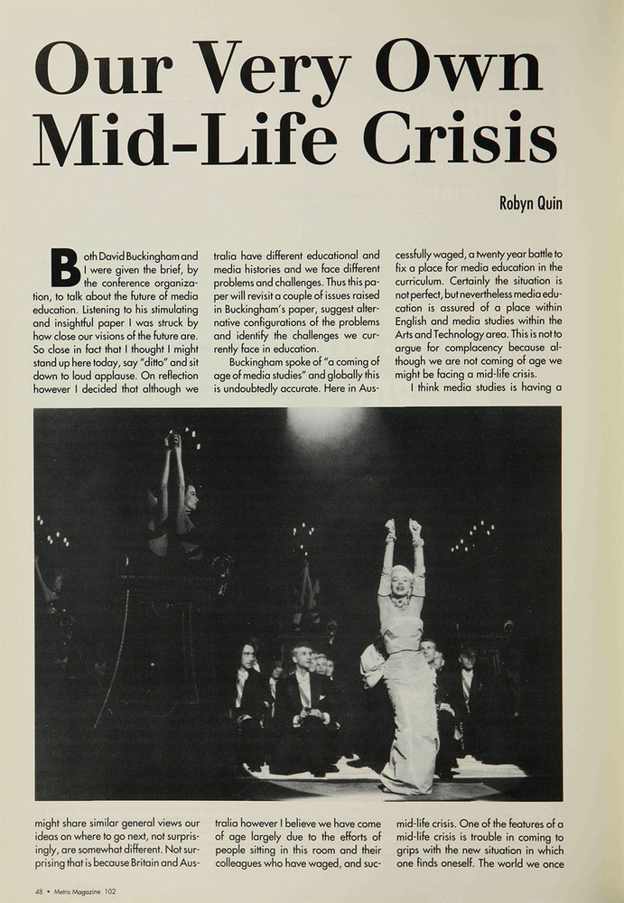 Our Very Own Mid-Life Crisis