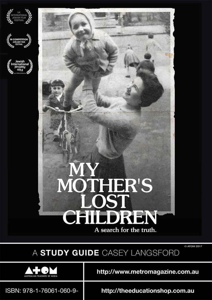 My Mother's Lost Children (ATOM Study Guide)