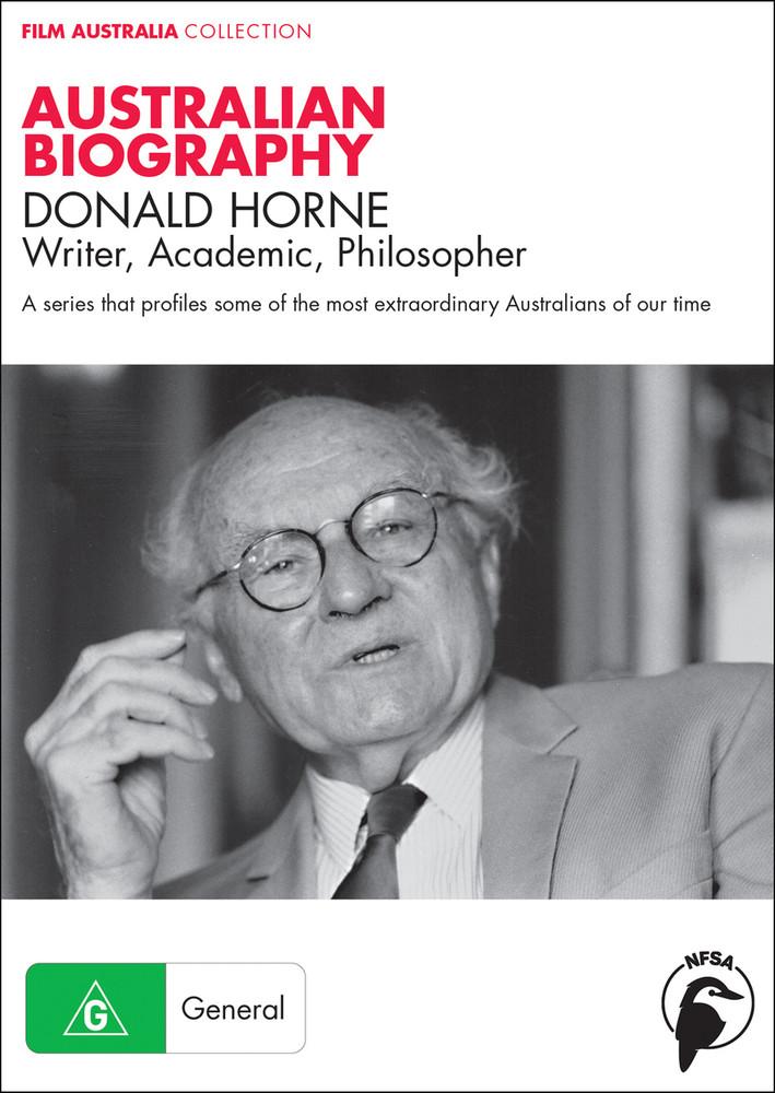 Australian Biography Series - Donald Horne (1-Year Access)