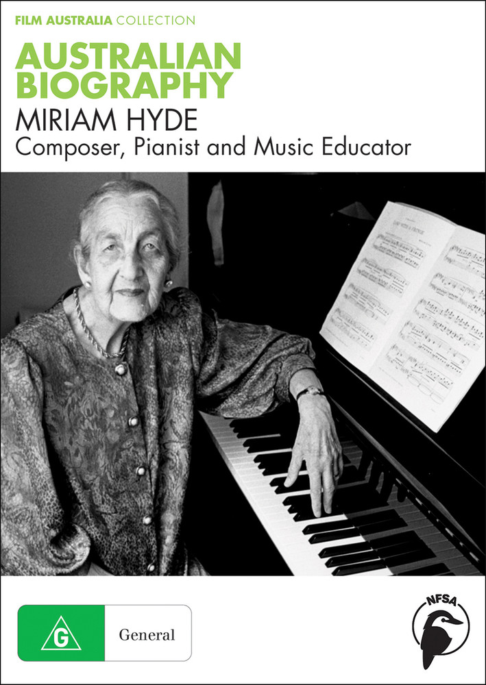 Australian Biography Series - Miriam Hyde (3-Day Rental)