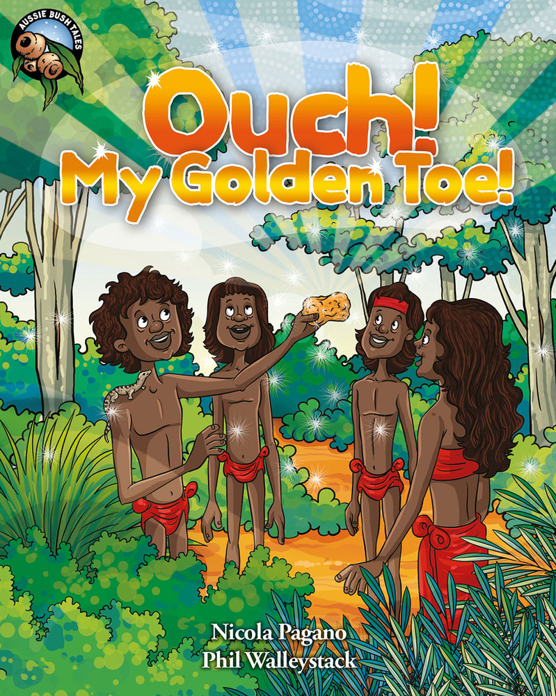 Ouch! My Golden Toe - Narrated Book (3-Day Rental)