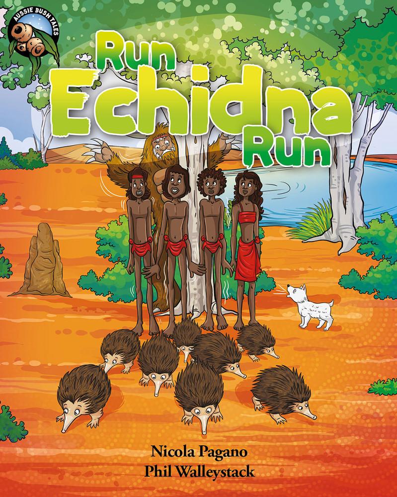 Run Echidna Run - Narrated Book (3-Day Rental)