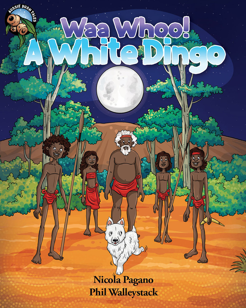 Waa Whoo! A White Dingo - Narrated Book (3-Day Rental)