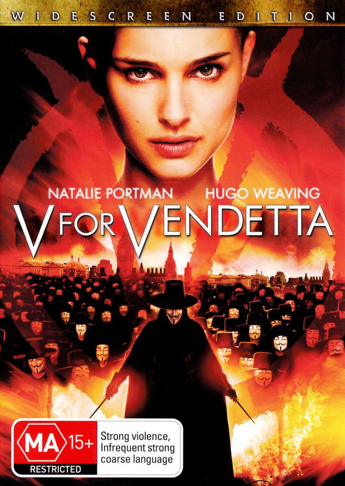 V For Vendetta The Education Shop