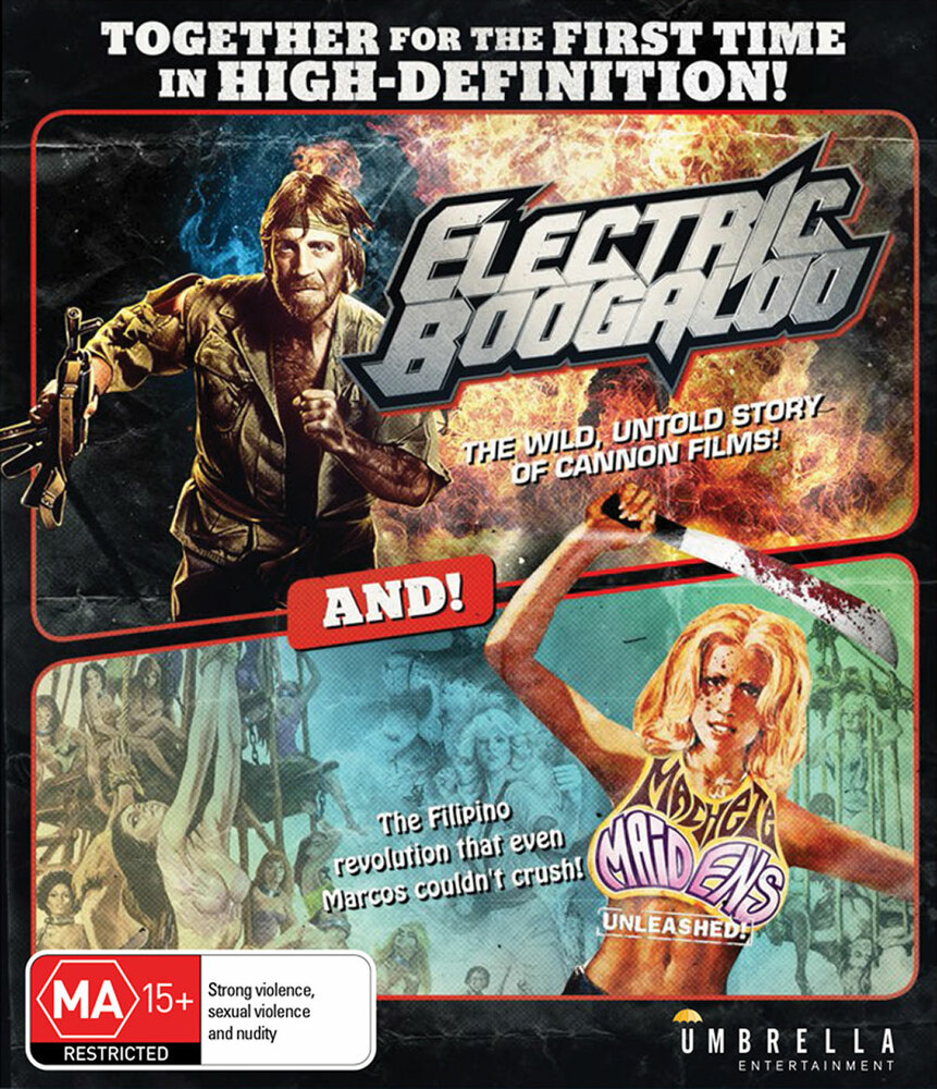 Electric Boogaloo and Machete Maidens Unleashed (Blu-ray)