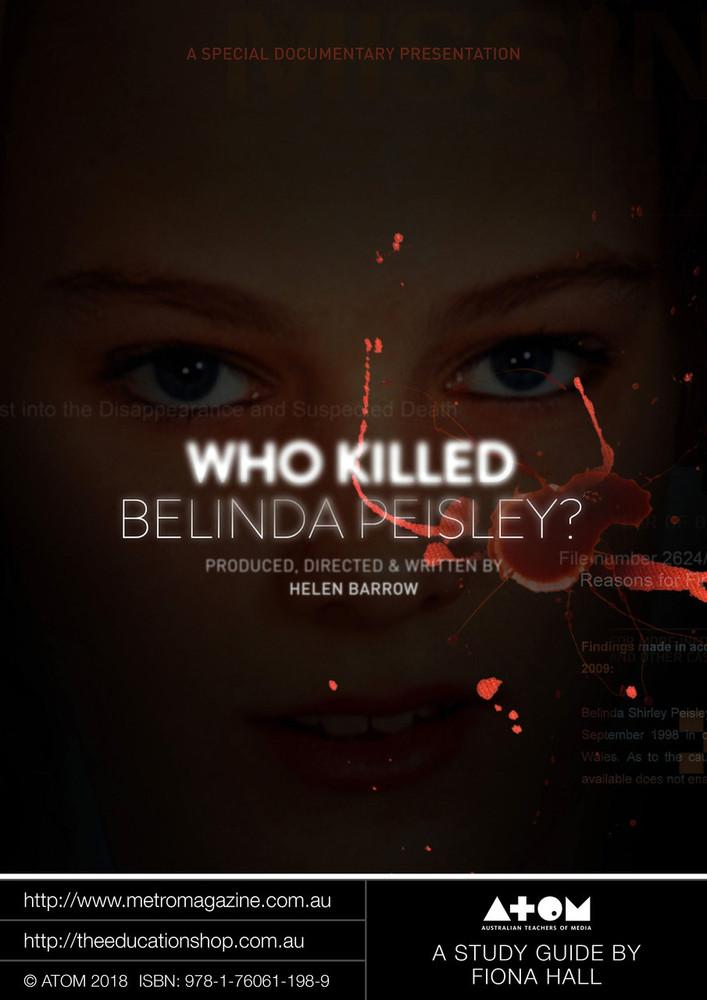 Who Killed Belinda Peisley? (ATOM Study Guide) - PDF + EPUB