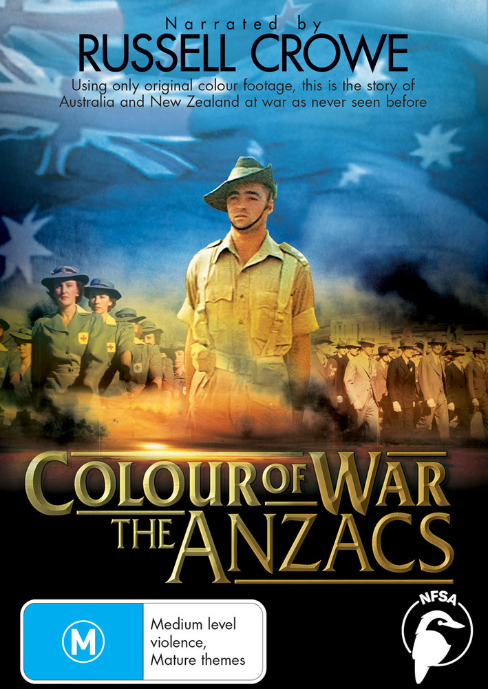 Colour of War - The Anzacs: series (3-Day Rental)