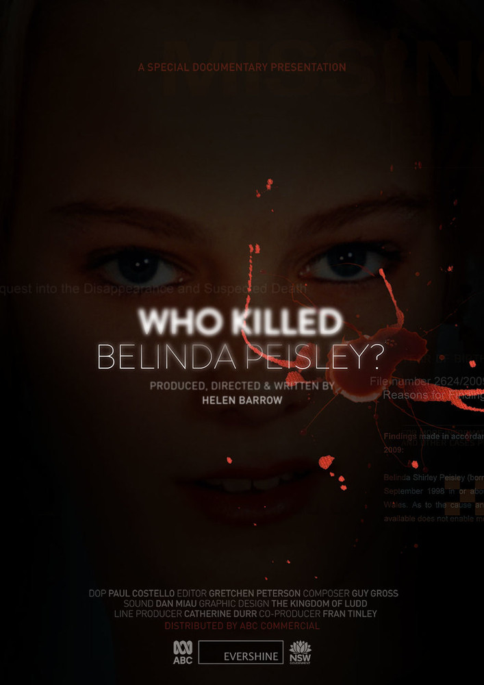 Who Killed Belinda Peisley? (1-Year Access)