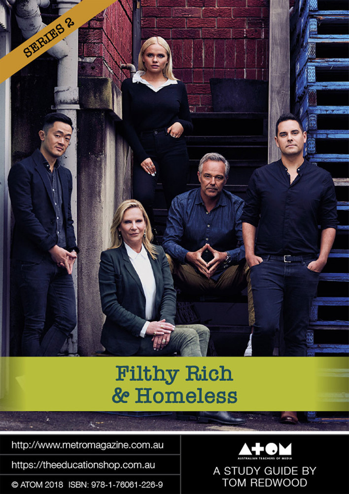 Filthy, Rich and Homeless - Series 2 (ATOM Study Guide)