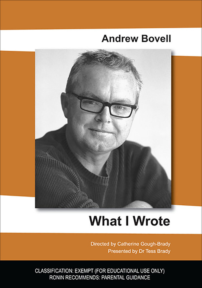 What I Wrote - Andrew Bovell
