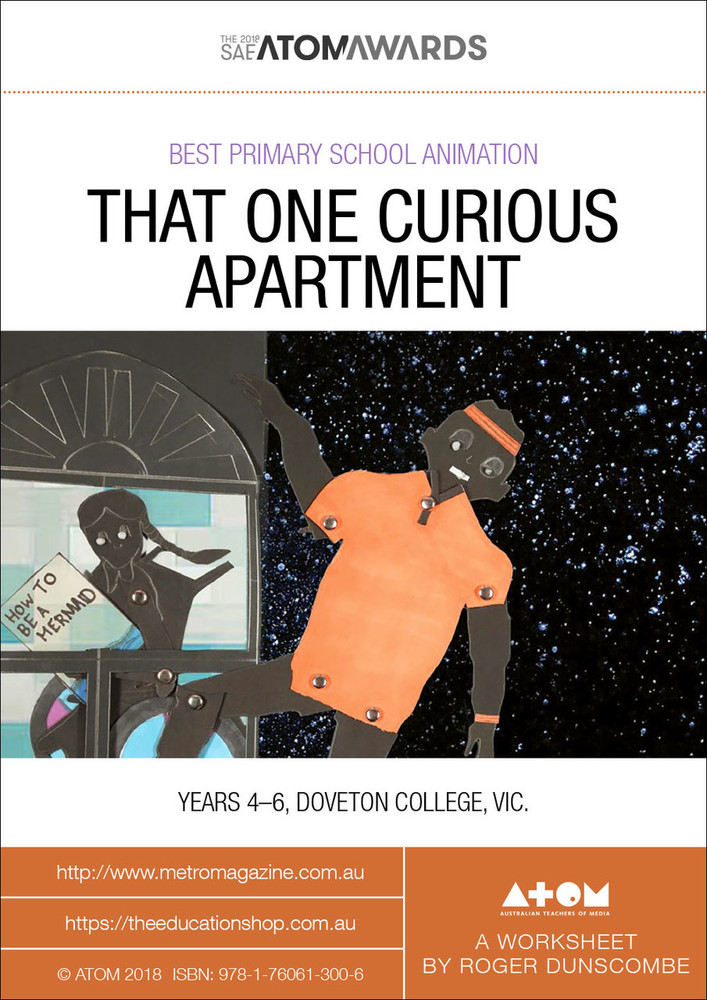 2018 SAE ATOM Award winner: That One Curious Apartment (ATOM Worksheets)