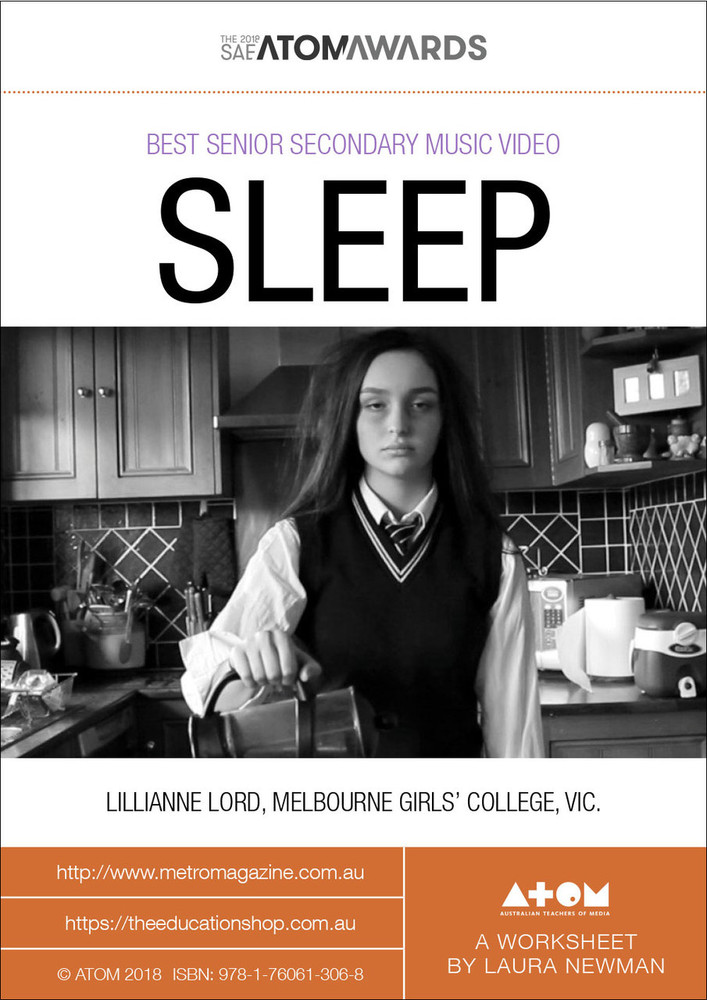 2018 SAE ATOM Award winner: SLEEP (ATOM Worksheets)