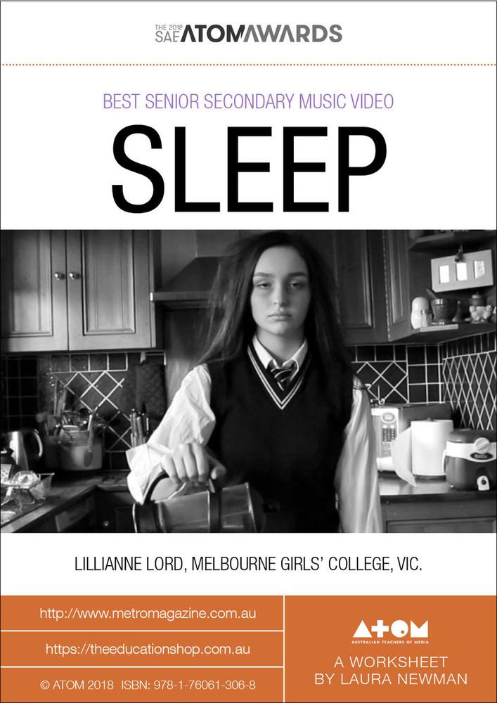 2018 SAE ATOM Award winner: SLEEP (ATOM Worksheets)